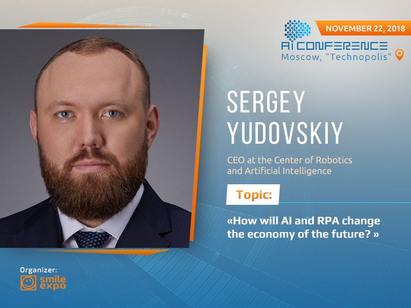 CEO at the Center of Robotics and Artificial Intelligence to speak at AI Conference Moscow