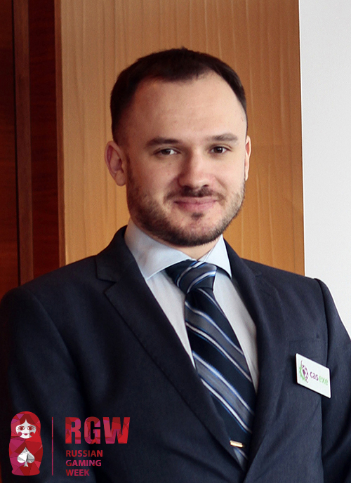 CEO компании CASEXE Иван Кондиленко – на конференции Russian Gaming Week