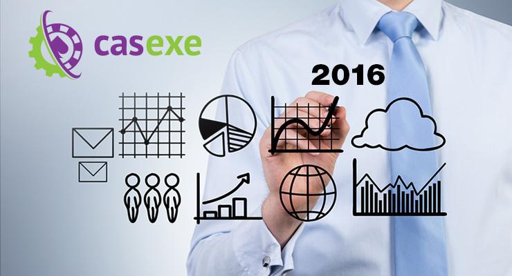 Что ждёт онлайн-гемблинг в 2016-м. Прогноз CASEXE
