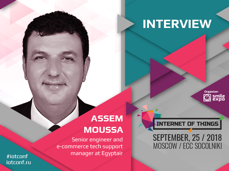 Cloud technologies will make life simpler and more comfortable – Assem Abdel Hamied Moussa, Egyptair