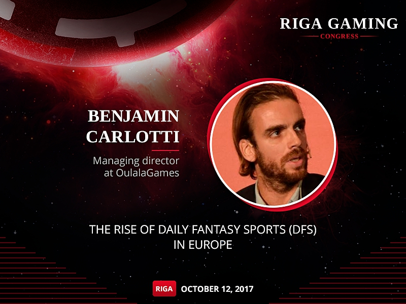 Co-founder of the first European fantasy football game Oulala to speak at RGCongress