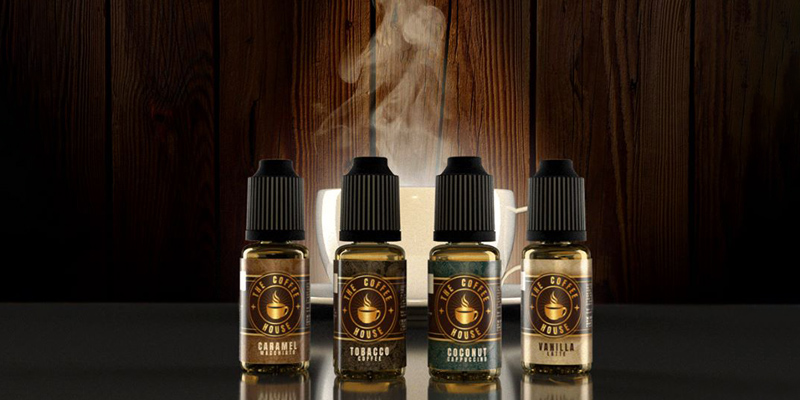 Coffee House E-Liquids from Vapouriz: a nice match for coffee junkies