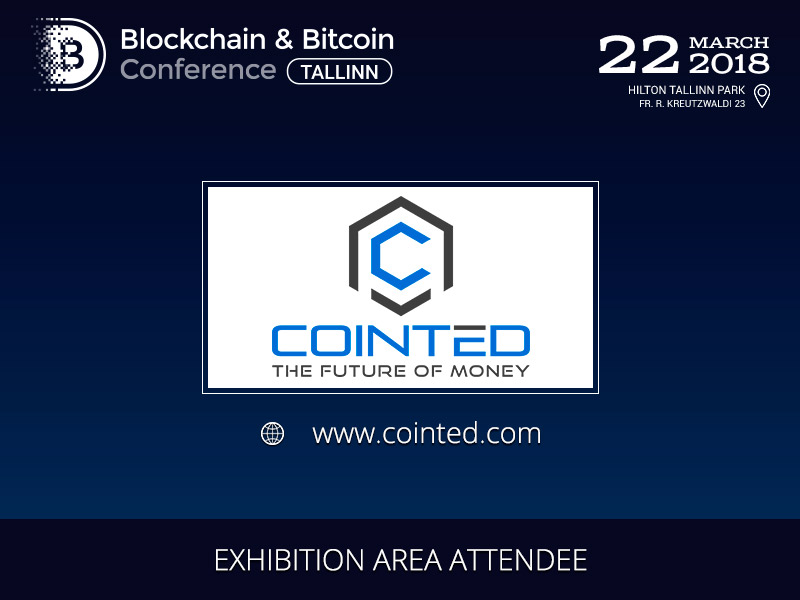 Cointed will become a Participant Of The Exhibition Area at Blockchain & Bitcoin Conference Tallinn