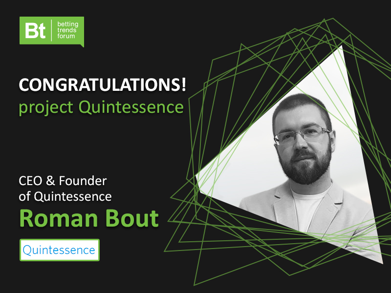 Congratulations to our partner Quintessence on winning the iGaming Asia Start-up Launchpad!