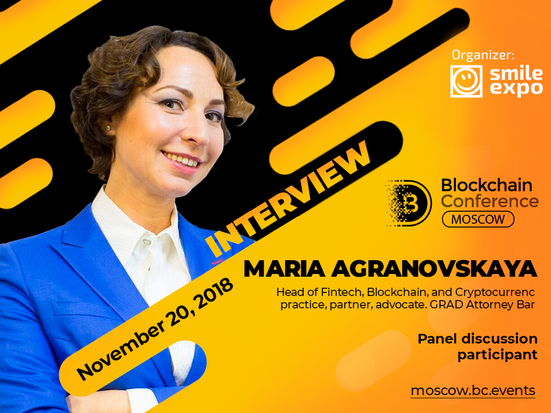 Cryptocurrencies cannot work with banks in Russia for now – lawyer Maria Agranovskaya