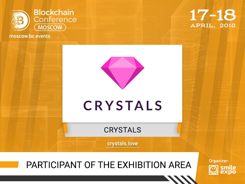 CRYSTALS Will Present the First Blockchain Solution for Modeling Industry