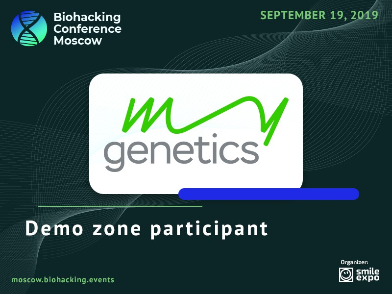 Demo Zone of Biohacking Conference Moscow to Feature DNA Tests by MyGenetics