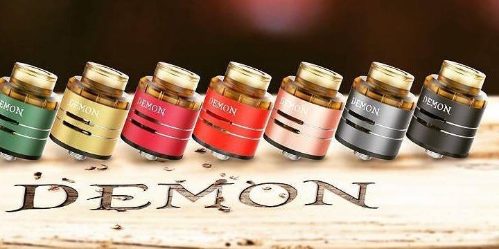 Demon RDA от VooPoo: цветные корпусы на любой вкус