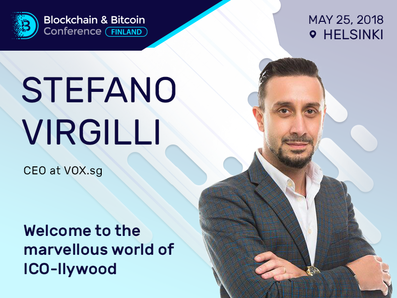 Developing a business strategy for ICO: a presentation by Stefano Virgilli, ICO advisory firm VOX