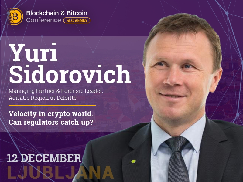 Development trends of crypto industry to be covered by Managing Partner of Deloitte Yuri Sidorovich