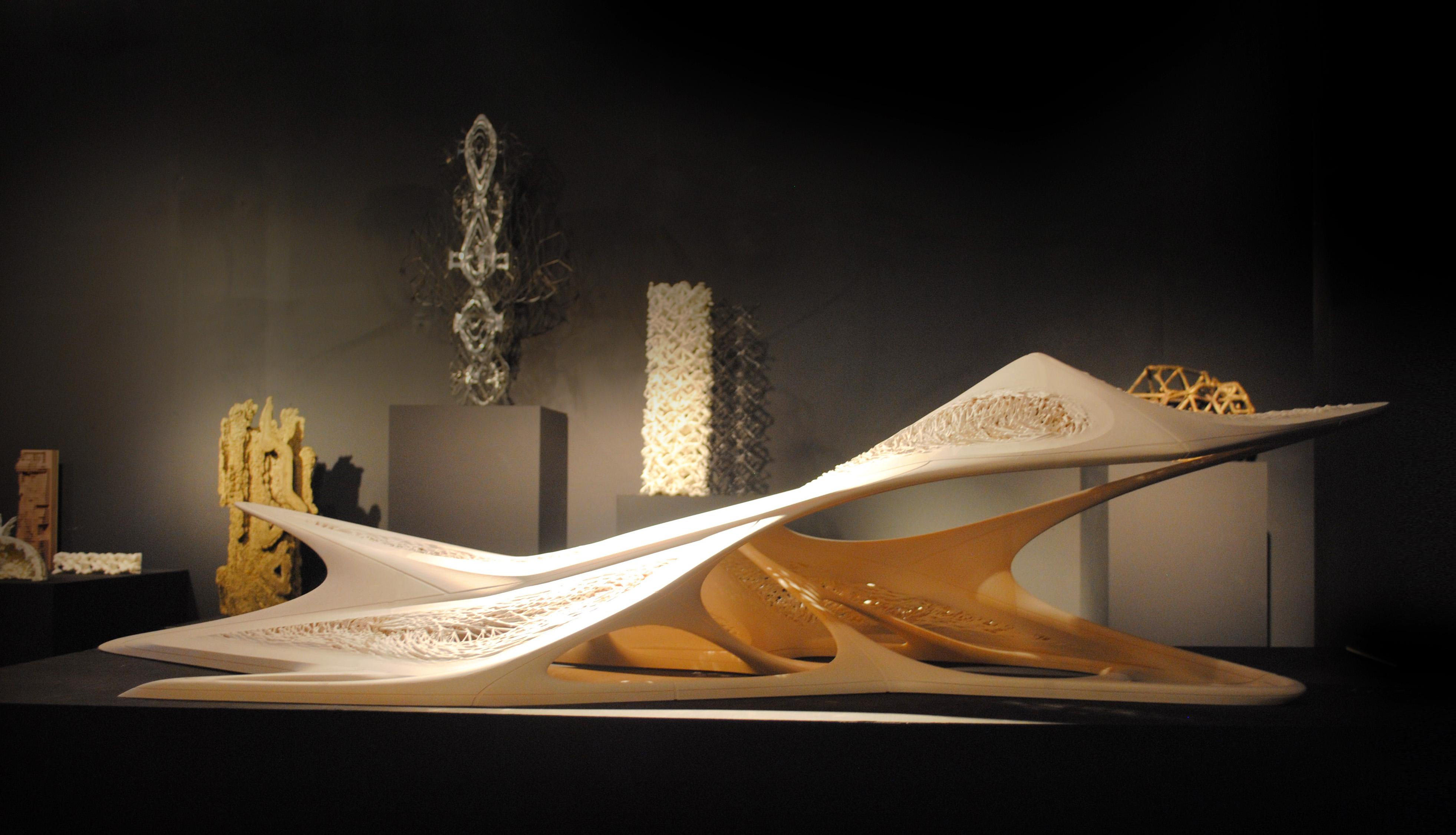 Дизайнер создает безупречные 3D-печатные архитектурные формы посредством вычислений на графических процессорах