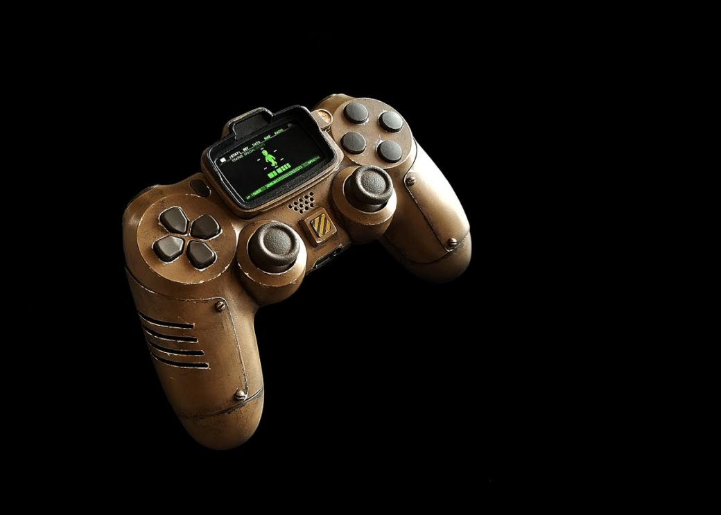 Дизайнер створив вражаючий контролер у стилі Fallout