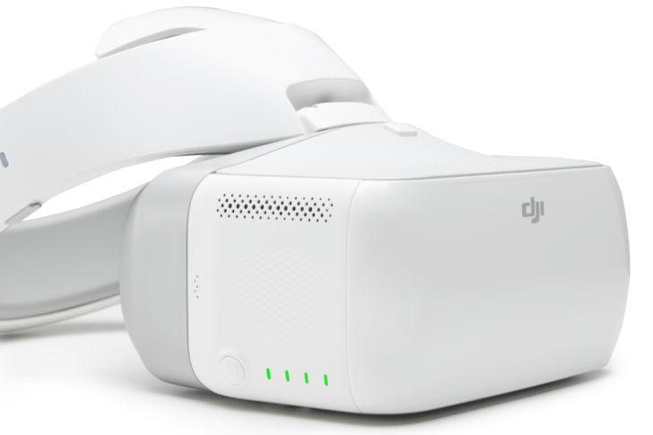 DJI Goggles – первые FPV-очки от компании DJI