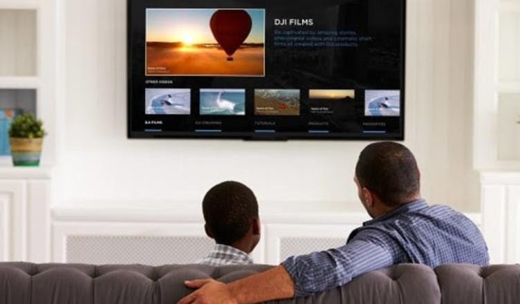 DJI создала Smart TV-приложение для стриминга