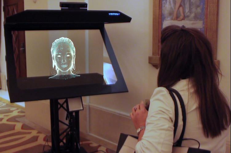 Для создания виртуального помощника были объединены технологии AI и голографии