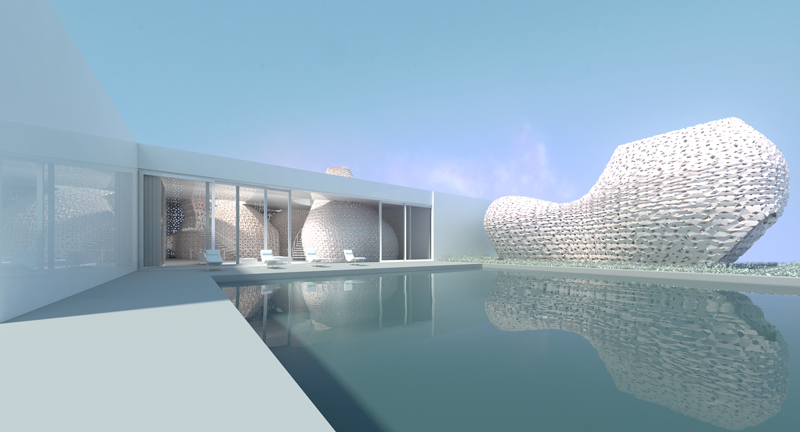 Дом, напечатанный из… соли