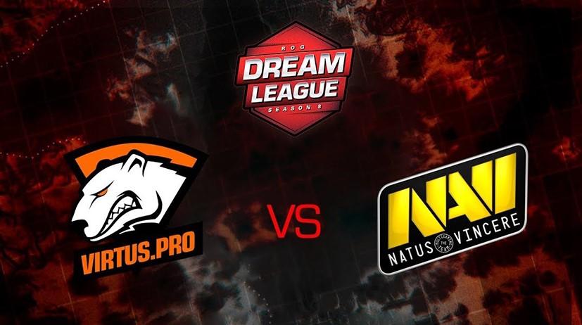 DreamLeague S8: команда Na'Vi получила ответное «спасибо» от Virtus.pro