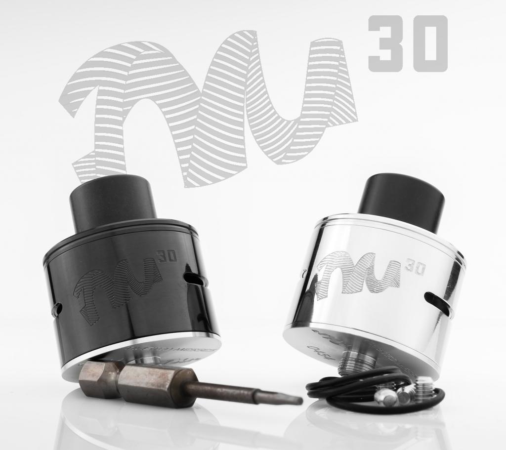 Дрипка TM30 RDA: крутой диаметр для крутых намоток