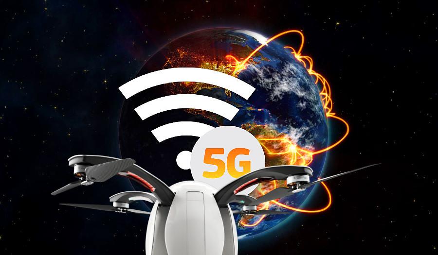 Дрон с поддержкой 5G успешно прошел тесты
