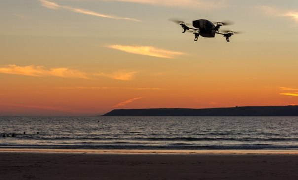 Drones will keep beaches clean in Dubai