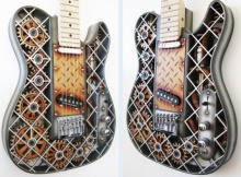 3D Printed Guitars by Olaf Diegel