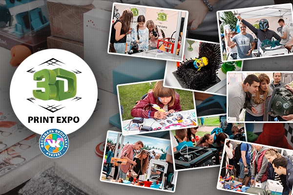 Exhibitors of 3D Print Expo showed amazing 3D printing opportunities at VK Fest