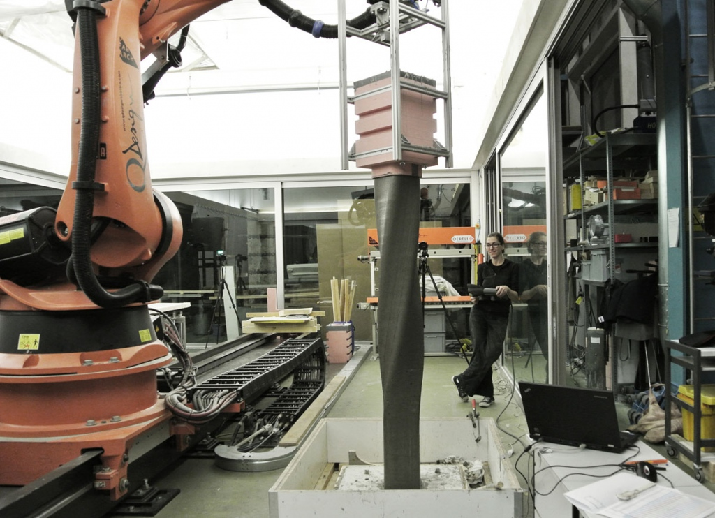 ETH Zurich uses 3D printers and robots to build three-story house