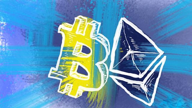 Ethereum догоняет Bitcoin