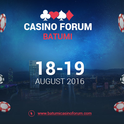 Everything on the gambling business at Casino Forum Batumi. Laws, investment, new trends