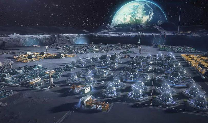 Европа построит базу на Луне до 2030 года в попытке найти пришельцев