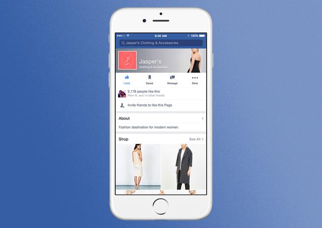 Facebook предлагает новый формат рекламы для магазинов розничной торговли