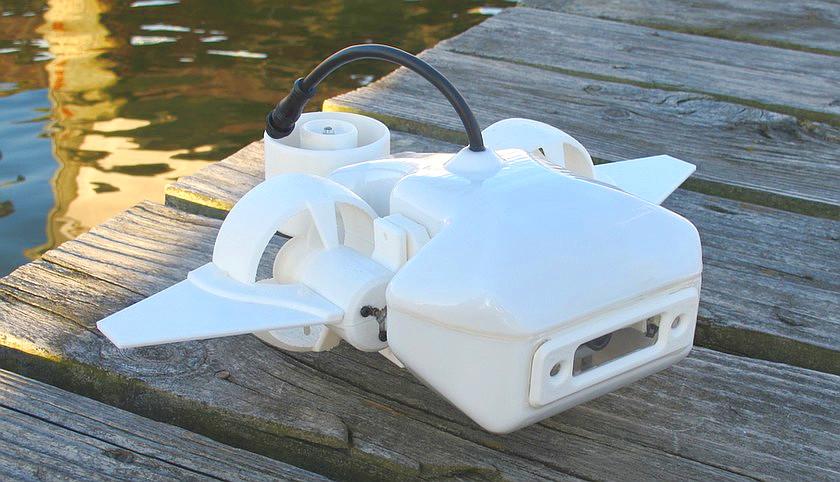 Fathom представила любительский подводный дрон
