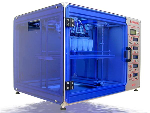 FDM 3D-принтер с массивом из пяти экструдеров – бюджетное решение для массового аддитивного производства?