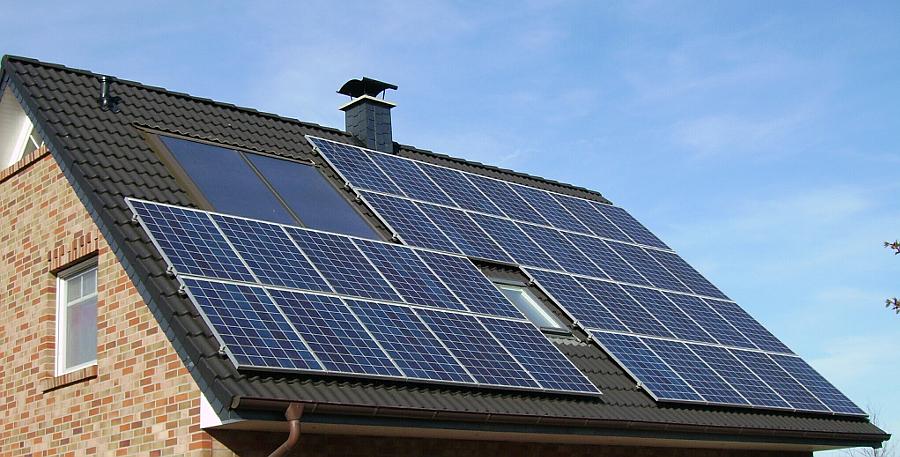 Ферма в Тюменской области получает энергию от солнечных батарей