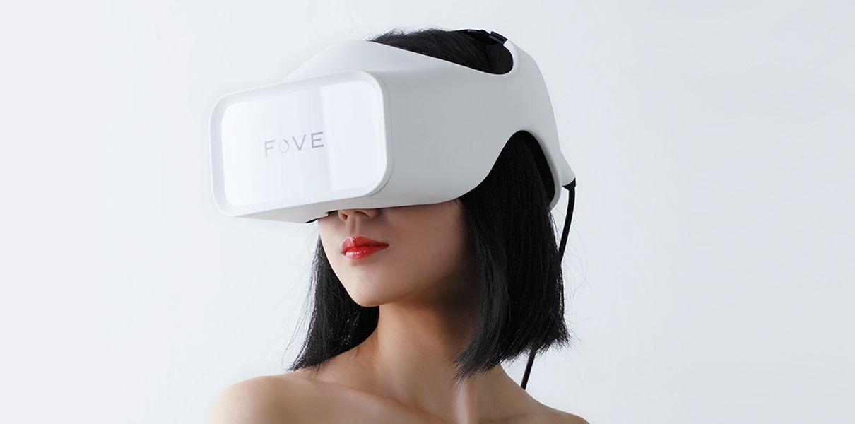 Fove выпустит первую VR-гарнитуру, отслеживающую взгляд
