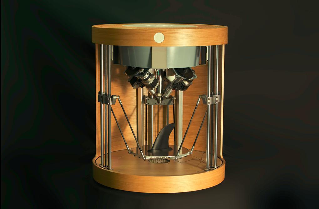 Французская компания Pollen представила Pam – 3D-принтер, печатающий гранулированным пластиком