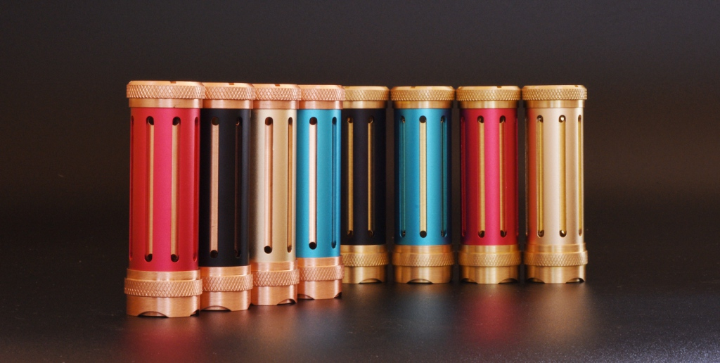 FUFDA PRO Mech Mod: low-end device from VAPJOY