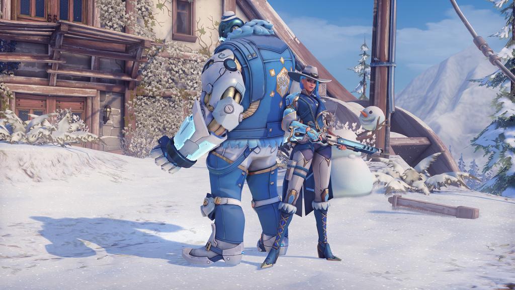 Overwatch organizes Winter Wonderland event