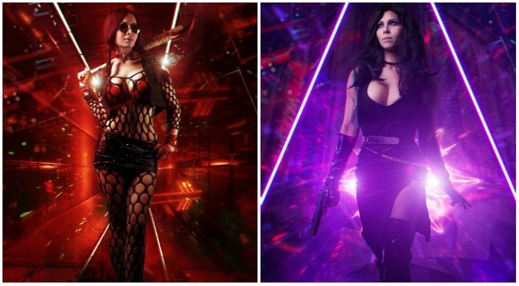 The best cosplay on Cyberpunk 2077 - 3