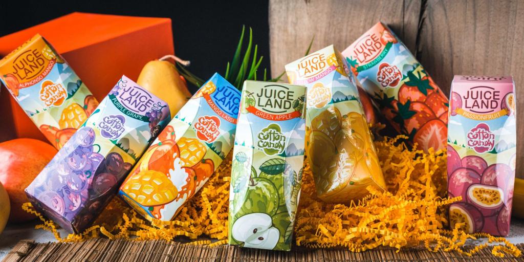 Pretty rich: flavor review Juice Land
