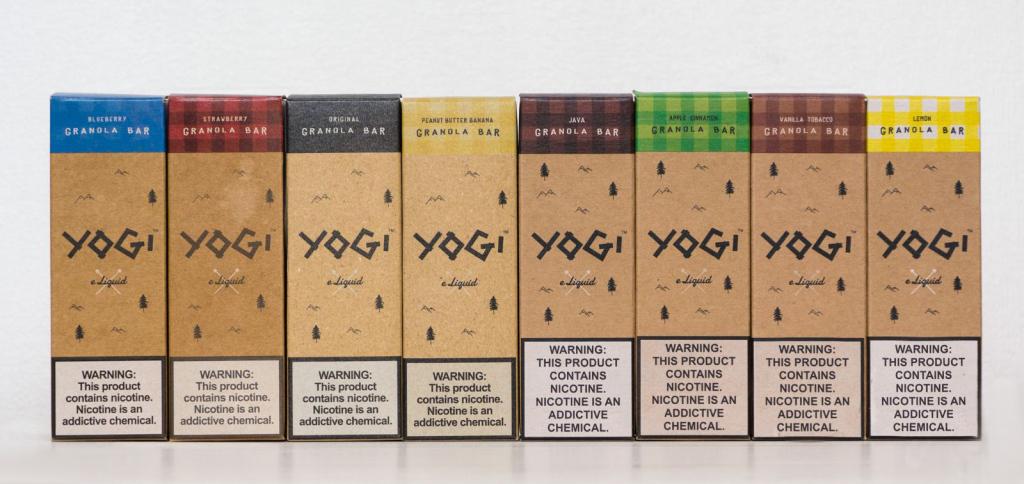 Производитель жидкостей YOGI E-Liquid