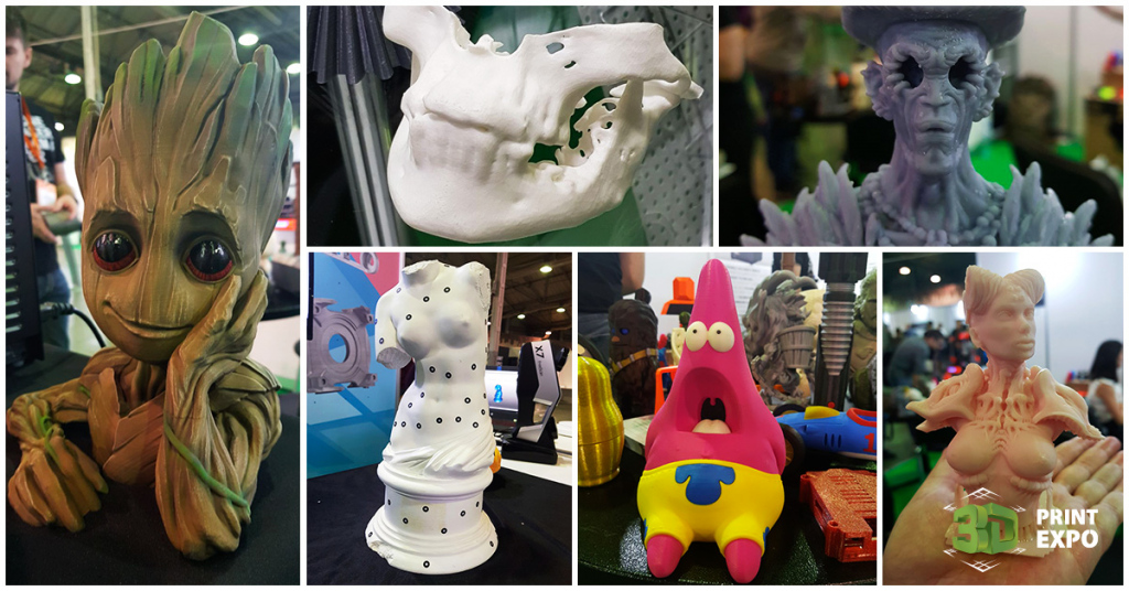 Kak prohodit pervyiy den 3D Print Expo 2019? Fotoreportazh 4