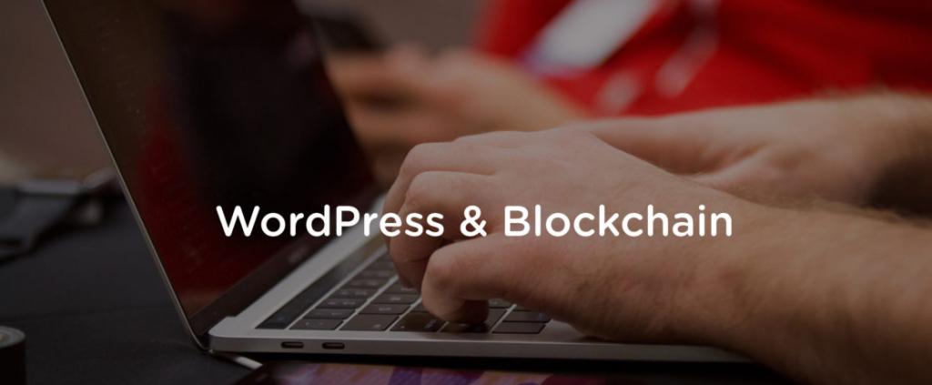 WordPress blockchain