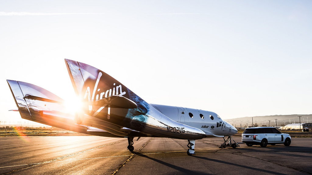 VSS Unity Voyager finished the eighth test flight