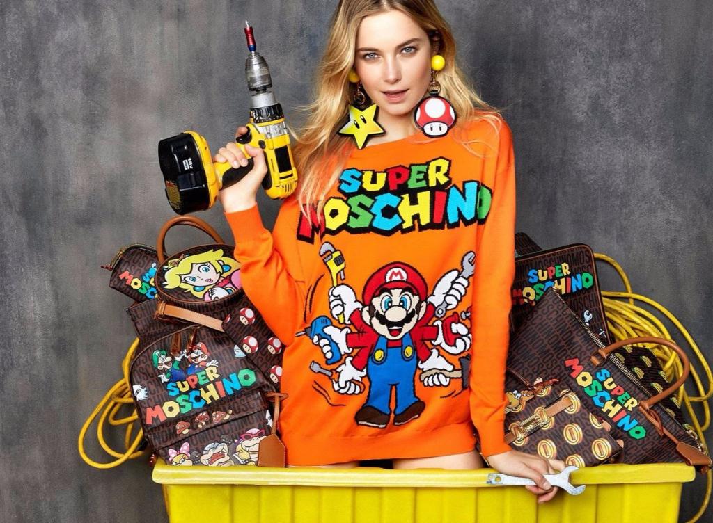 Super Mario Bros Moschino