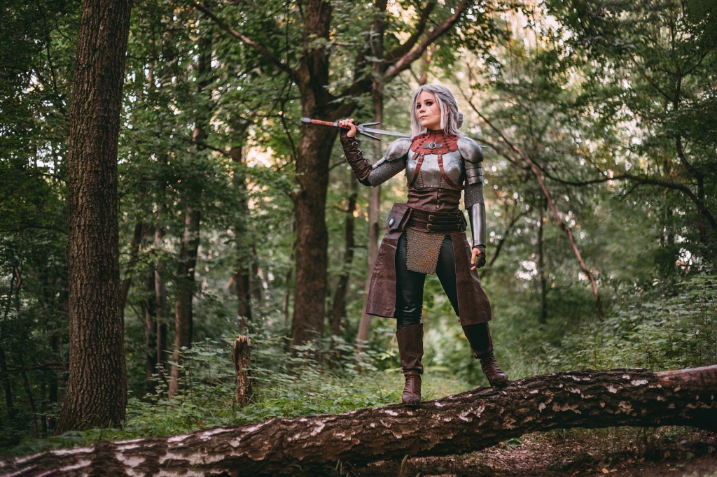 Geralt, Triss, Ciri, Yennefer, and others. Selection of the best cosplays of the Witcher - 11