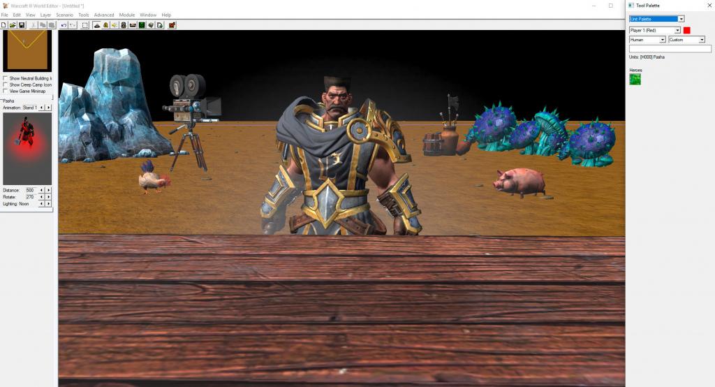 Редактор карт Warcraft III: Reforged