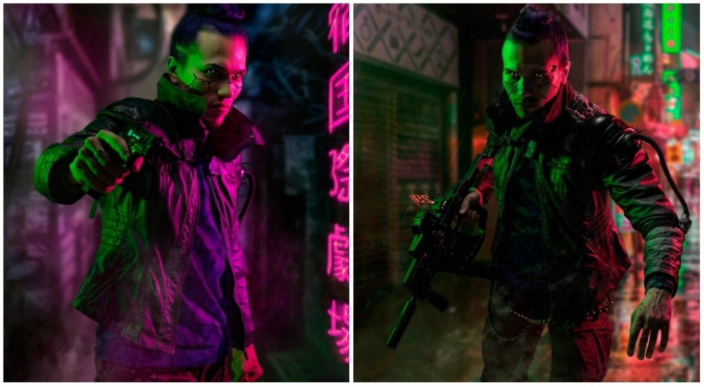 The best cosplay on Cyberpunk 2077 - 1