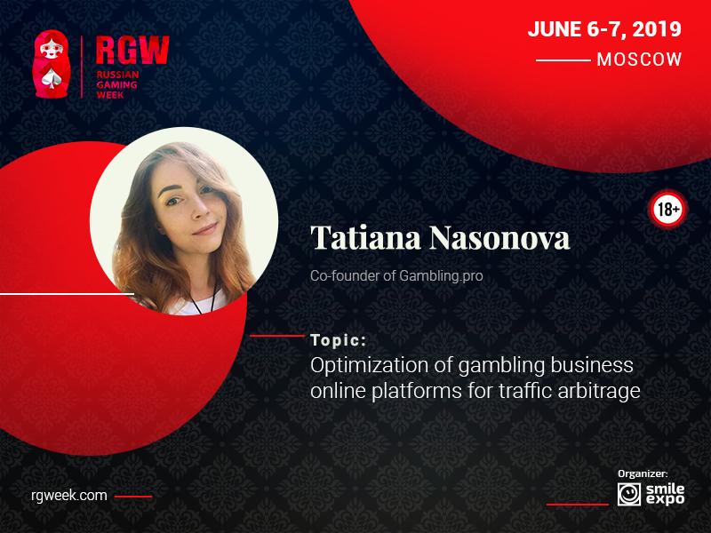 Gambling.pro's Tatiana Nasonova Will Tell How to Set Up a Gambling Online Platform for Traffic Arbitrage