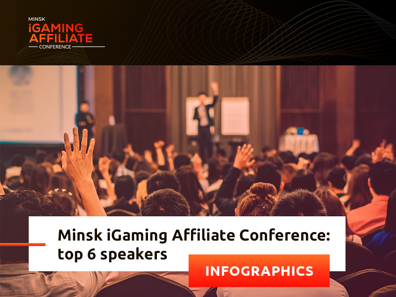 Gambling and marketing experts at Minsk iGaming Affiliate Conference